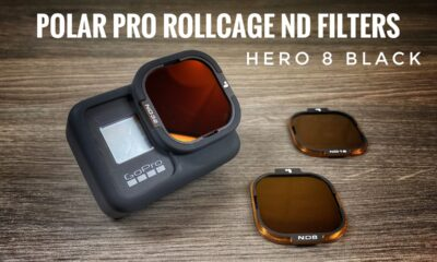PolarPro RollCage ND filters for the Hero 8 Black