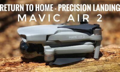 DJI Mavic Air 2 return to home and precision landing accuracy test.