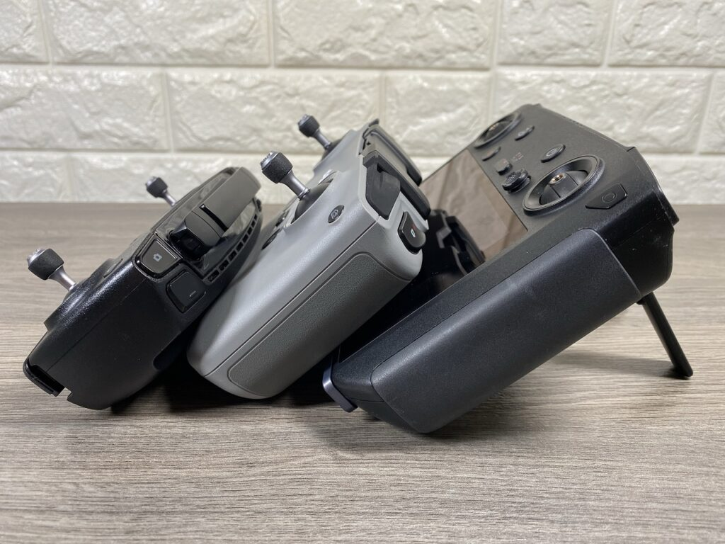 Size and weight comparison of the DJI Mavic Air 2.