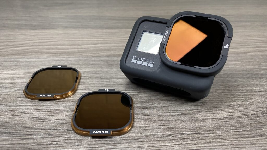 PolarPro ND filters for the GoPro Hero 8 Black RollCage.