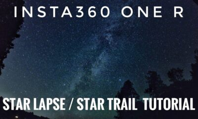 Insta360 One R Star-Lapse Tutorial.