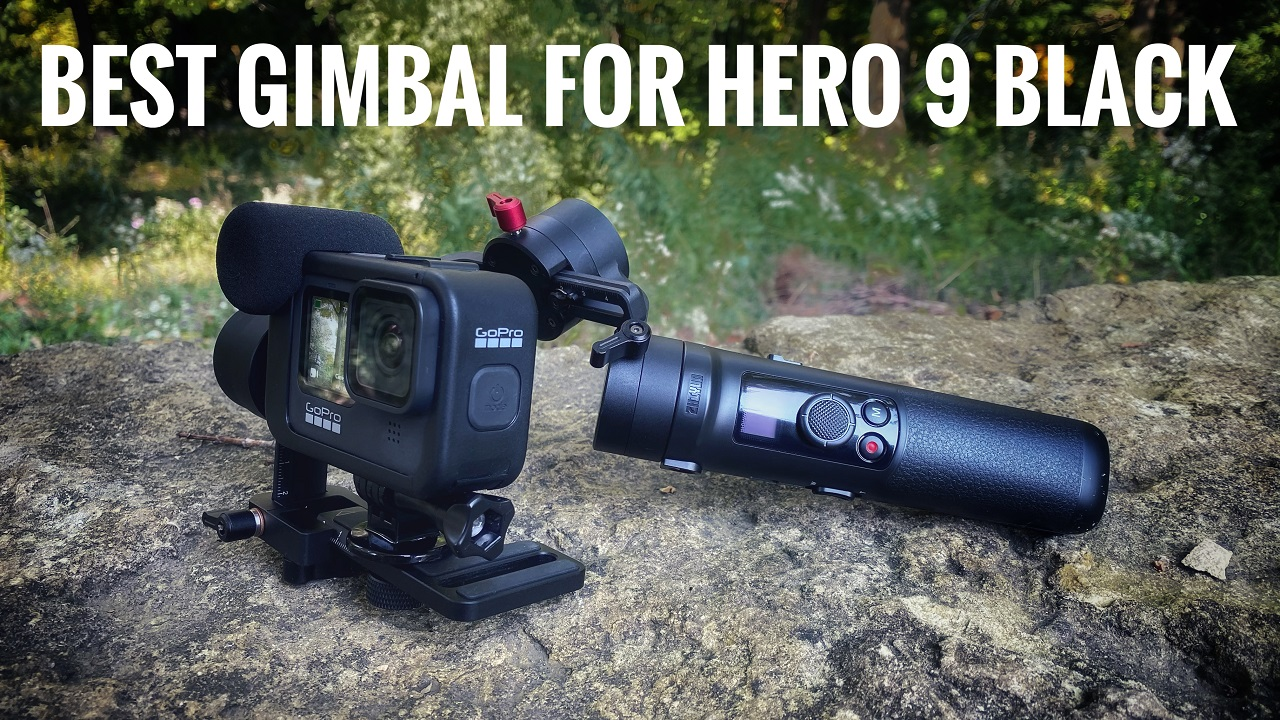 Best gimbal for the GoPro Hero 9 Black.