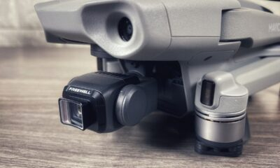 Anamorphic lens for the DJI Mavic Air 2. Sample Footage and review.