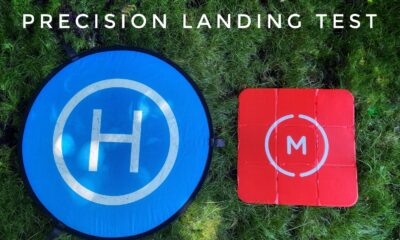 Testing different landing pads with DJI precision landing.