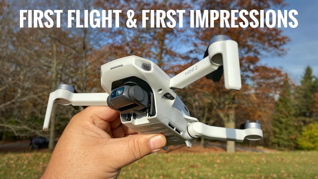 DJI Mini 2 First Flight and First Impressions.