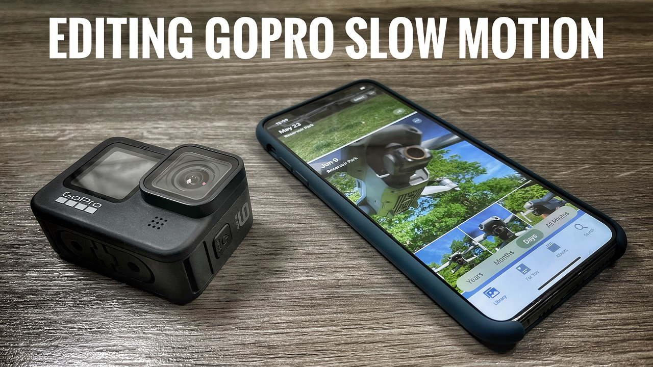 How to edit GoPro slow-motion footage on your iPhone or iPad.
