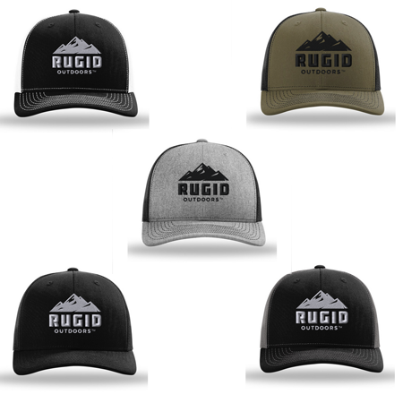 rugid trucker hats - multiple color options