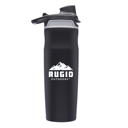 rugid stainless steel travel mug