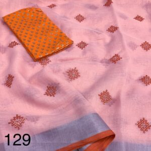 Pure_Linen_Saree_collection_online_vatika_fabrics_1