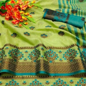 Cotton_Crape_Saree_Online_Shopping_Cotton_Candy_vatika_fabrics_2