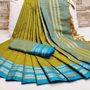 Soft_Cotton_Weaving_Sarees_Cotton_Sarees_Online_Shopping_Magic_Chex_Vatika_Fabrics_1