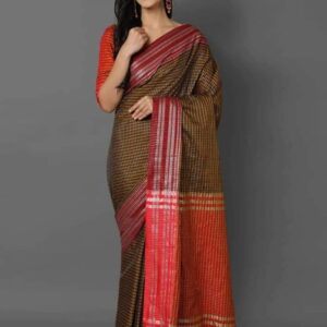Soft_Cotton_Weaving_Sarees_Cotton_Sarees_Online_Shopping_Magic_Chex_Vatika_Fabrics_4