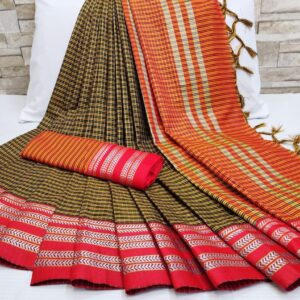 Soft_Cotton_Weaving_Sarees_Cotton_Sarees_Online_Shopping_Magic_Chex_Vatika_Fabrics_7
