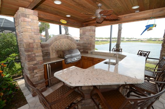 Outdoor Kitchens Da Vinci Cabinetry Bonita Springs, FL