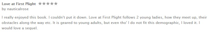 Apple iTunes iBookstore Love at First Plight review 2
