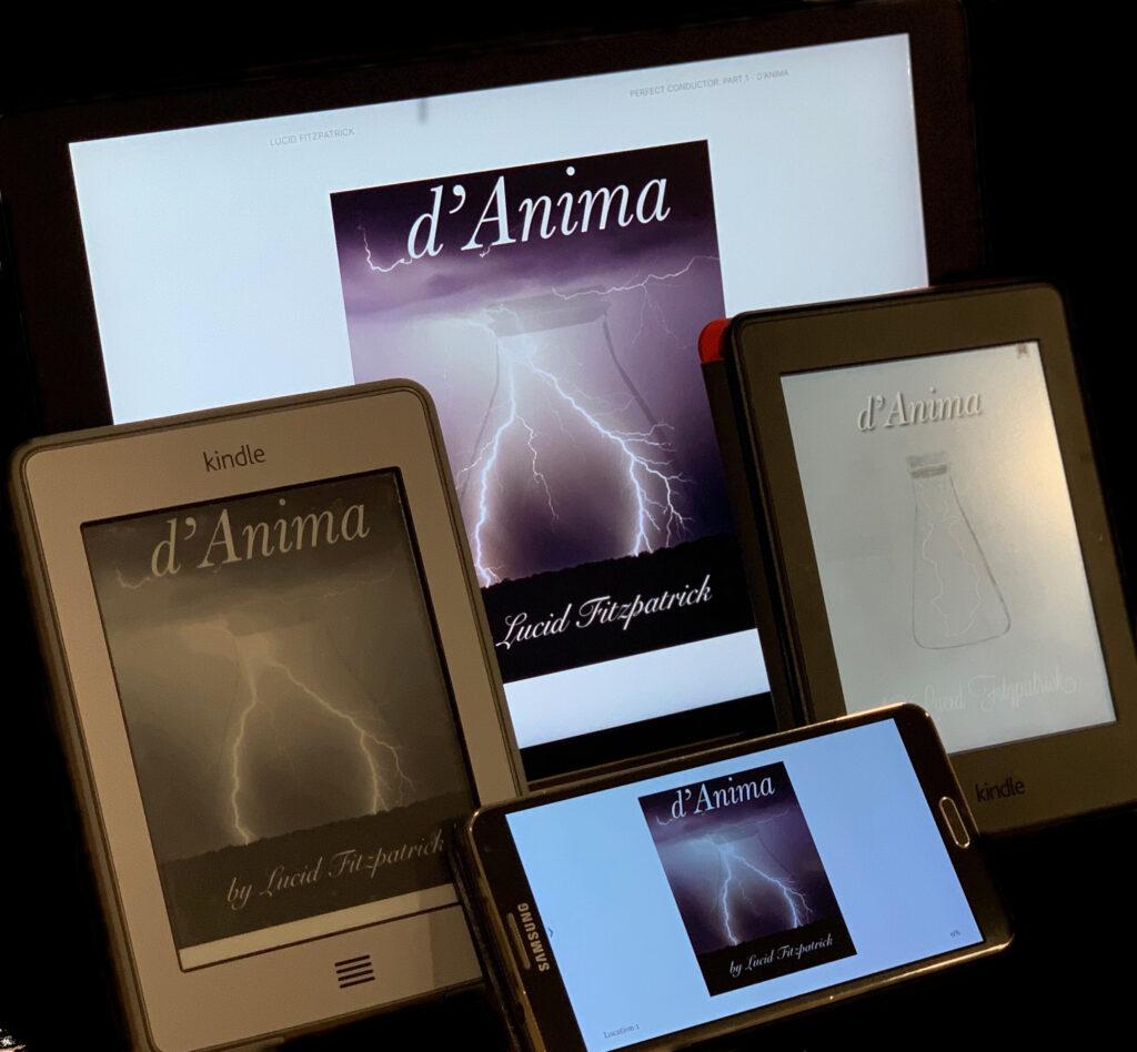 d'Anima on Kindle