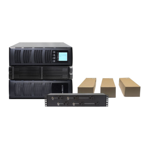P90L Bundle: UPS, Isolation Transformer, Battery Module, Power Distribution Unit, (3) Rail Kits