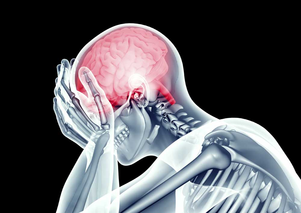 Concussion in sports & head pain