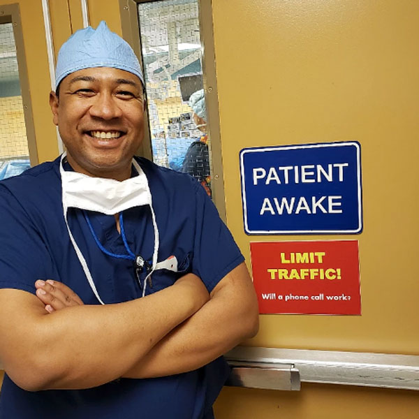 "Dr. Braxton Completes First ""Awake"" Spine Surgery at Vail Surgery Center"