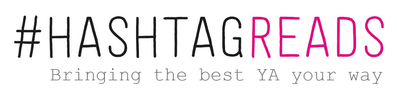 HASHTAGREADS logo + tagline