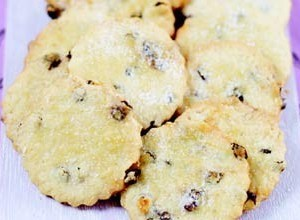 Squashed fly biscuits.