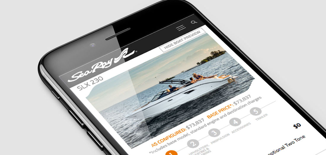 Digital Content for Sea Ray