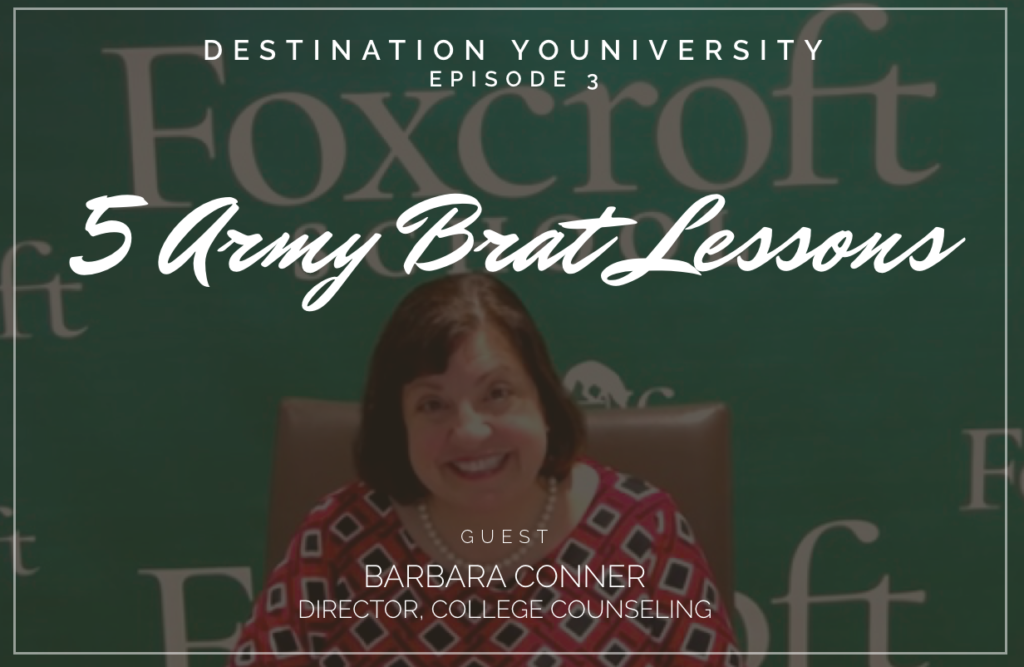 Episode 3-5 Army Brat Lessons