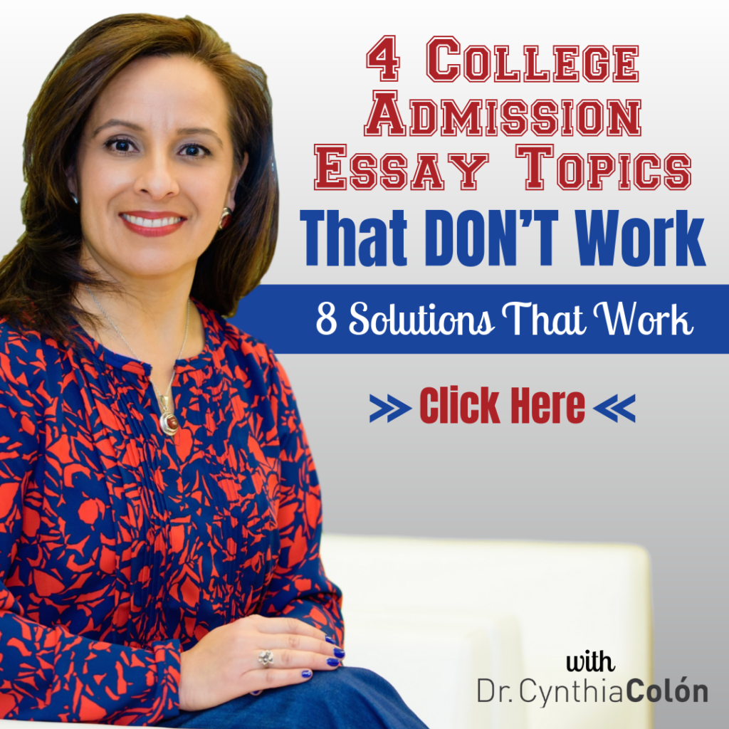 Essay Topics That Don't Work