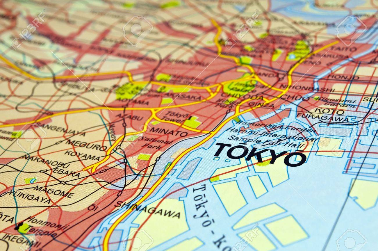 Tokyo Stock Map