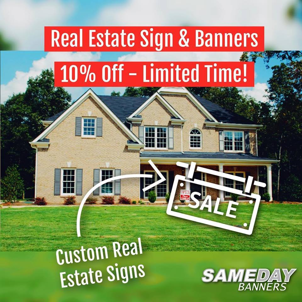 Real Estate Sign Discounts