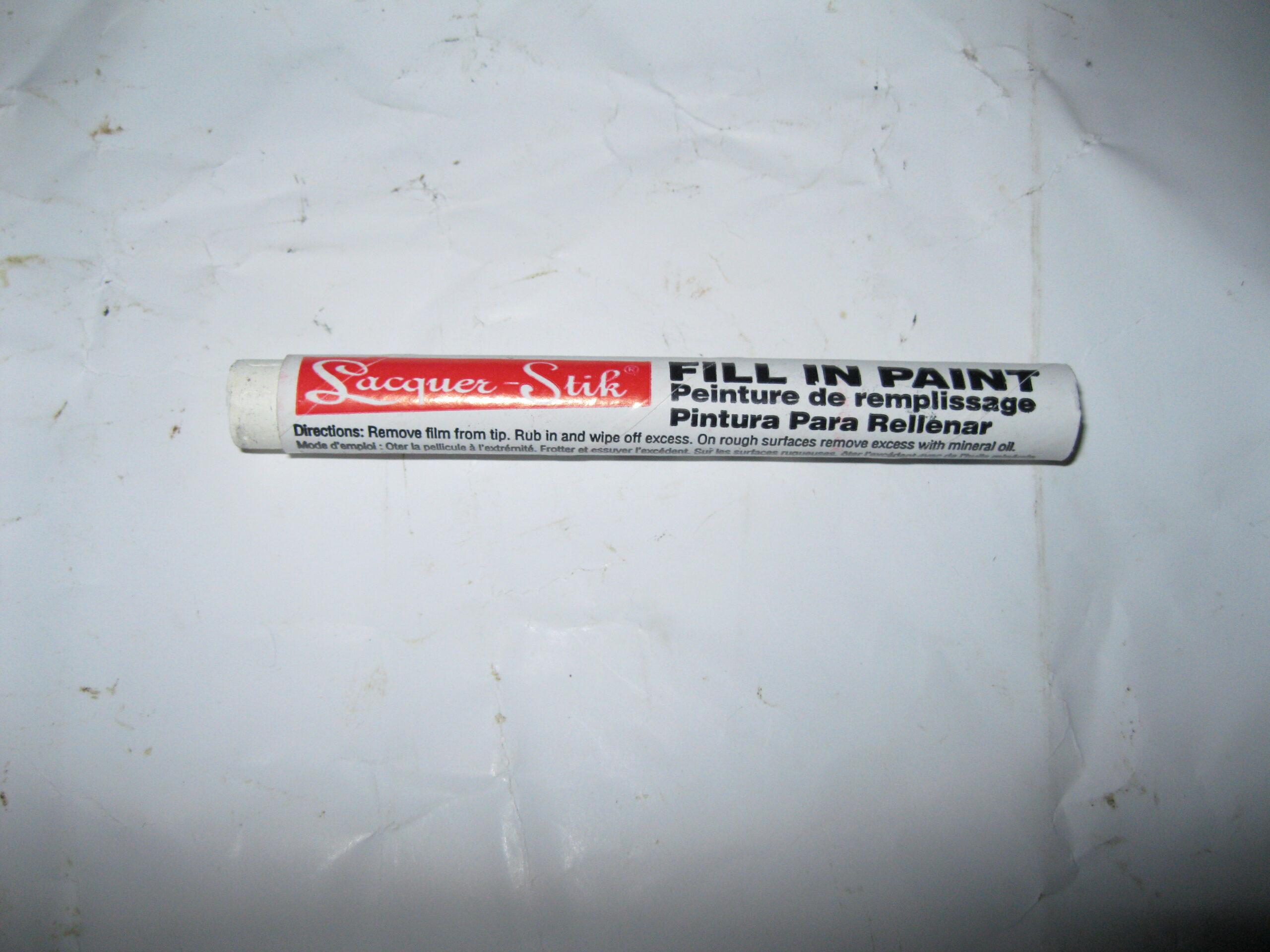 Lacquer Paint Stick.