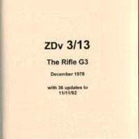 Rifle G3 Operator's Manual