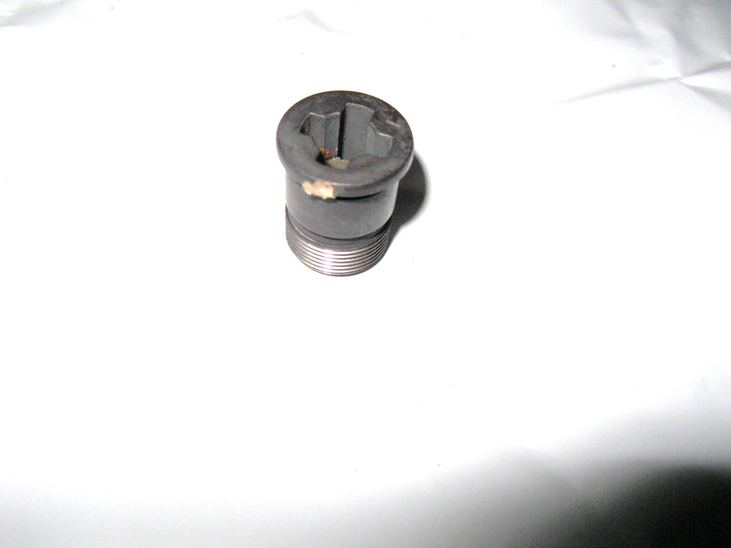 Garand gas cylinder plug.
