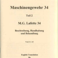 MG 34 and MG 42 Lafette Manual
