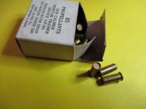 Mortar Training Propellants