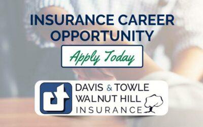 Insurance Career Opportunity