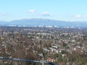 San Jose from Harwood Drive