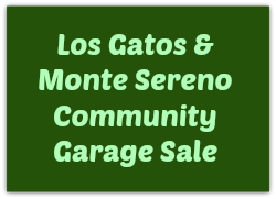 Los Gatos and Monte Sereno Community Garage Sale