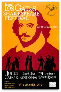 2014 Los Gatos Shakespeare Festival