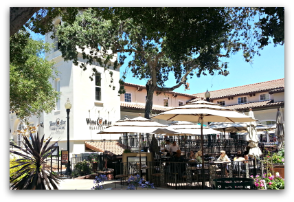 The Wine Cellar restaurant in Old Town, Los Gatos