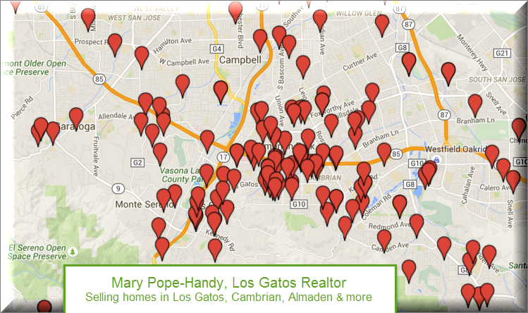 Mary Pope-Handy, Realtor, Los Gatos - home sales