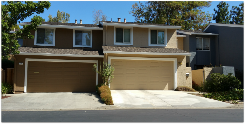 Los Gatos Woods townhomes