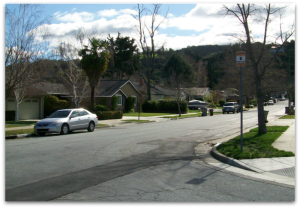 Hills proximity to the Alta Vista neighborhood