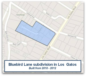 Bluebird Lane neighborhood of LG