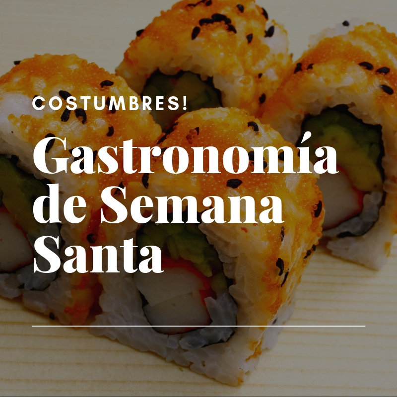 Gastronomía de Semana Santa