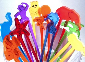 Colorful Assortment Of Chopsticks