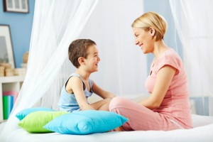 Intraverbal-Mom-and-Son