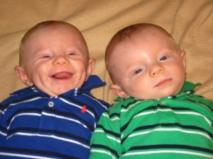 Twin Boys With Torticollis