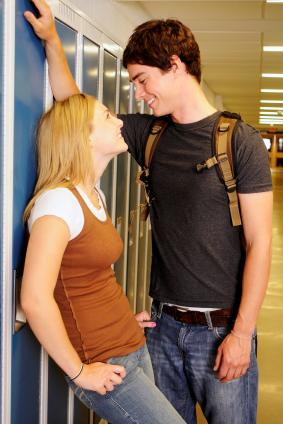 teens dating in school