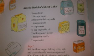Amelia Bedelia Ingredients
